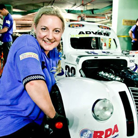Ruth Levy Race Car Driver