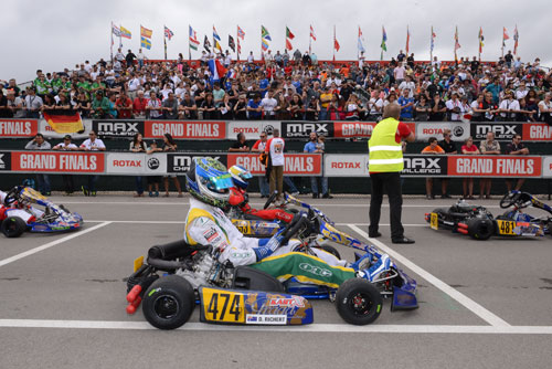 Geelong driver Daniel Richert finished as the highest placed Australian, finishing fifth in the DD2 Masters category