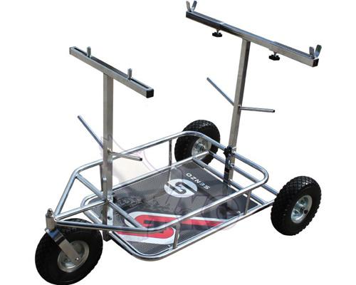 senzo three whel kart trolley