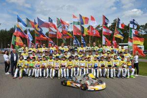 Group Photo of the 2017 CIK-FIA Karting Academy Trophy (pic - CIK/KSP)