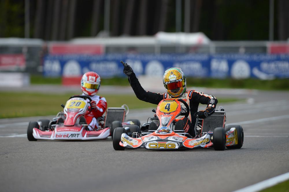 Paolo De Conto (ITA), Winner of Final [2017 CIK-FIA European KZ Championship, Round 1, Genk/BEL, 14/05/2017] (pic - CIK/KSP)