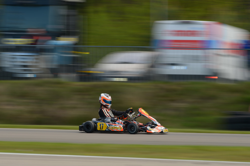 Stan Pex (NLD), 3rd in the Final [2017 CIK-FIA European KZ Championship, Round 1, Genk/BEL, 14/05/2017] (pic - CIK/KSP)