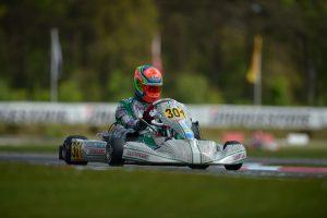 Matteo Vigano (ITA), Winner of Final [2017 CIK-FIA European KZ2 Championship, Round 1, Genk/BEL, 14/05/2017] (pic - CIK/KSP)