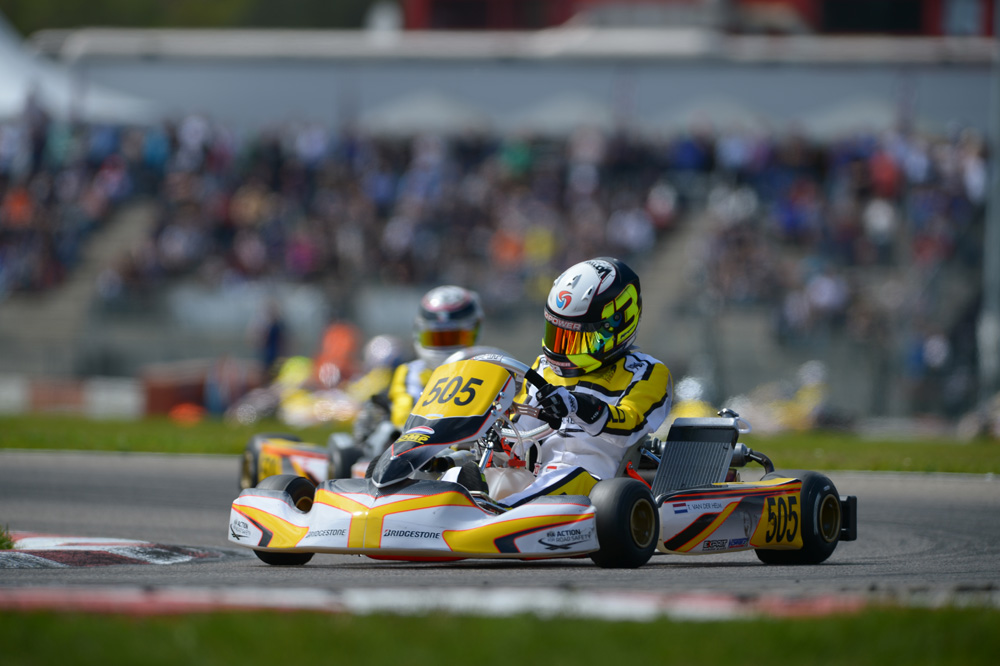 Tijmen van der Helm (NLD), 2nd in the Final [2017 CIK-FIA Karting Academy Trophy, Round 1, Genk/BEL, 14/05/2017] (pic - CIK/KSP)