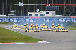 Race start [2017 CIK-FIA Karting Academy Trophy, Round 1, Genk/BEL, 14/05/2017] (pic - CIK/KSP)