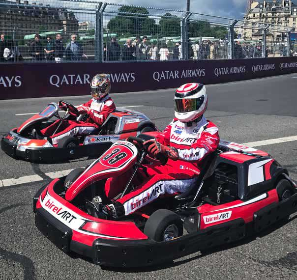 Birel ARTs E-Kart in Paris