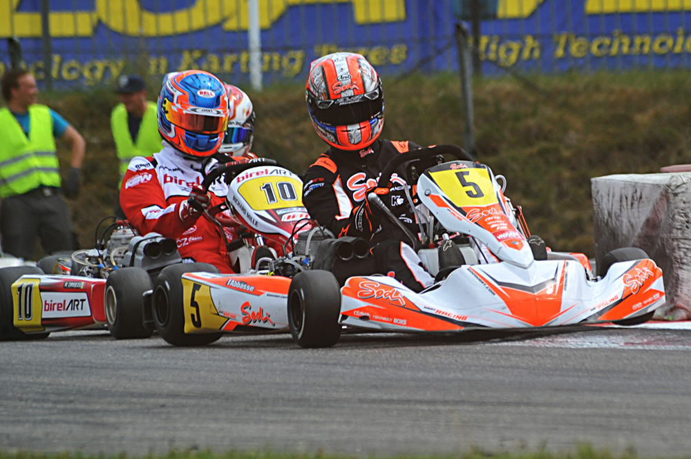 Anthony Abbasse leads Rick Dreezen, KZ2 (pic - press.net images)