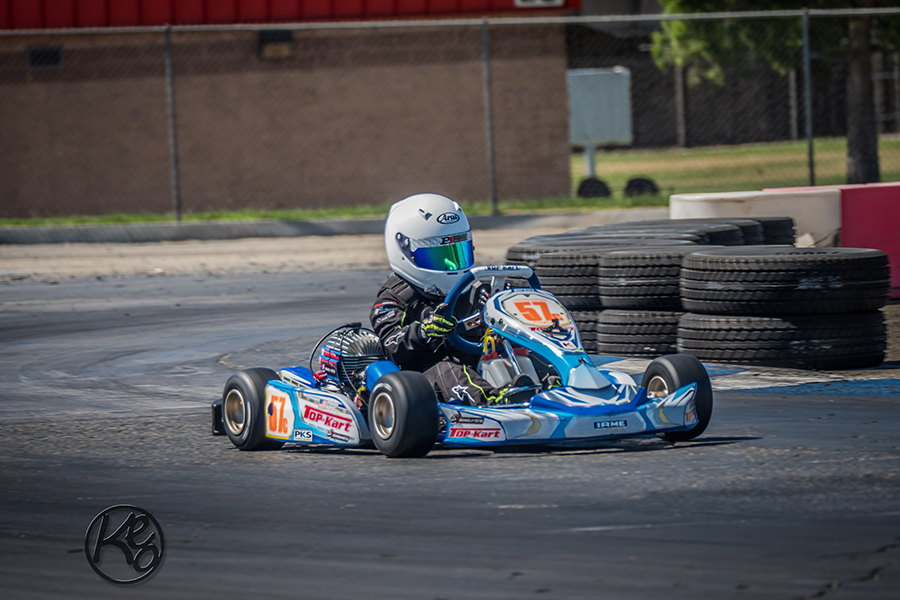 Logan Toke swept the action in the Micro Swift class (Photo: Karen E Ott Photography)
