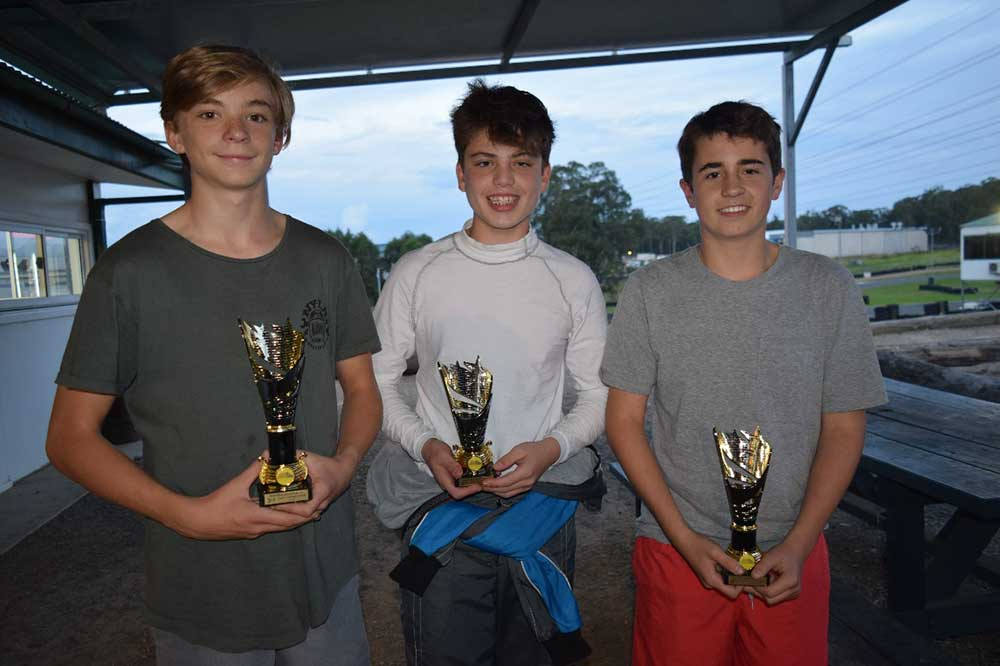 Tyler Brown, KA4 Junior Heavy winner (left)  (pic - Quickpixels)