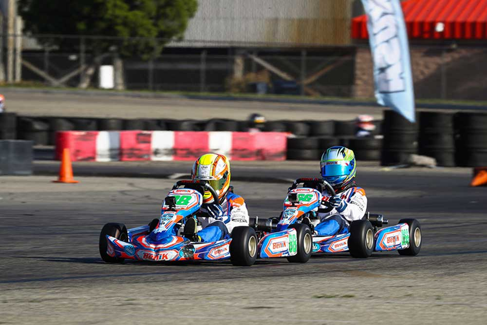 Carson and Cole Morgan finished 1-2 in the Mini Swift class (Photo: DromoPhotos.com)