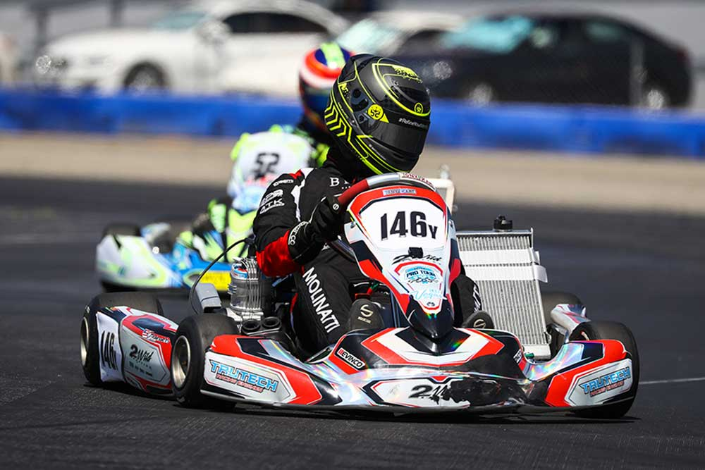 Eric Molinatti became a first time winner in X30 Master (Photo: DromoPhotos.com)