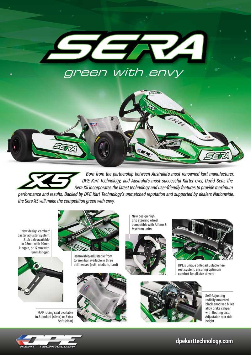 New Sera X5 Breaks Cover Kartsportnews
