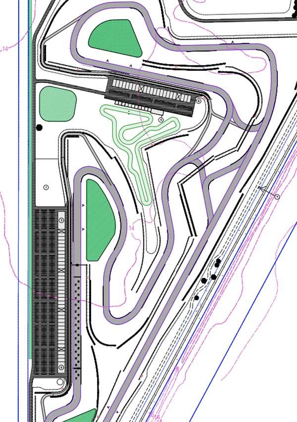 kart-track-in-middle-keysbrook-motorspor