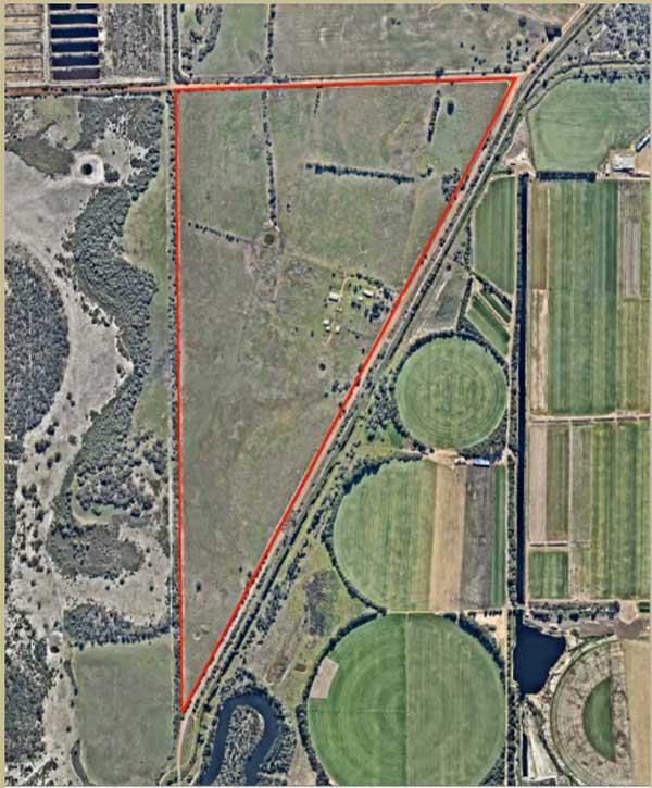 The site at 732 Punrak Road, Keysbrook