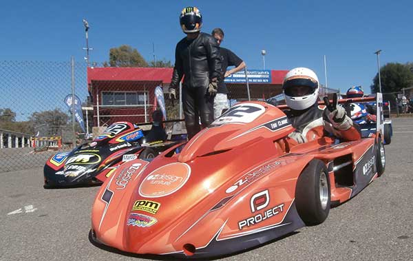 Split Round for Vic Superkarts at Winton - KartSportNews
