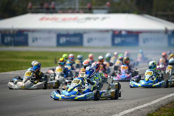 Aron and Stanek OK at Sarno - KartSportNews