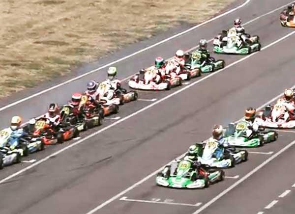 Double Podium for Wharton at Rotax Euro Round - KartSportNews