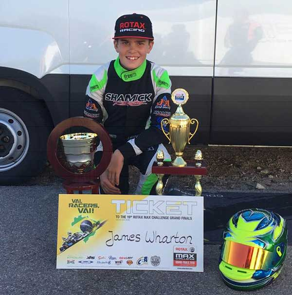 Wharton Wins Euro MAX Trophy Finale - KartSportNews