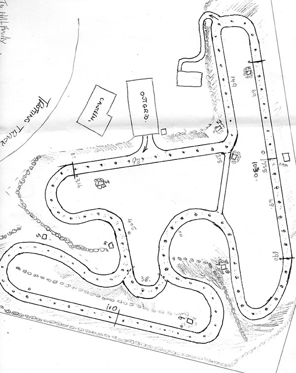 geelong track to be extended kartsportnews Energy Go Karts a sketch of the changes ing to the geelong kart track
