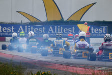 KFA class for 1990s era karts at the Margutti Trophy