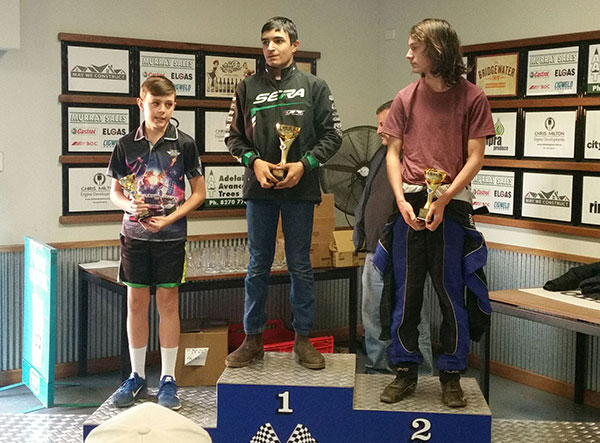 KA4 Light Presentation, 1st Antoni Ormsby, 2nd Rhys Bartlett, 3rd Brayden Parkinson