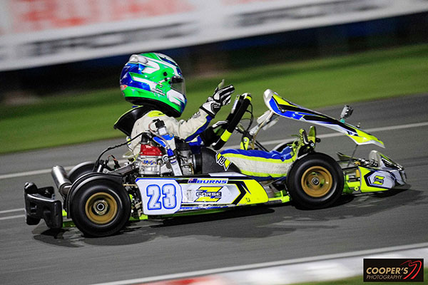 1st in Micro MAX, Jaxson Burns (pic - Coopers Photography)