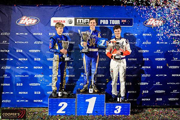 Junior MAX podium (pic - Coopers Photography)