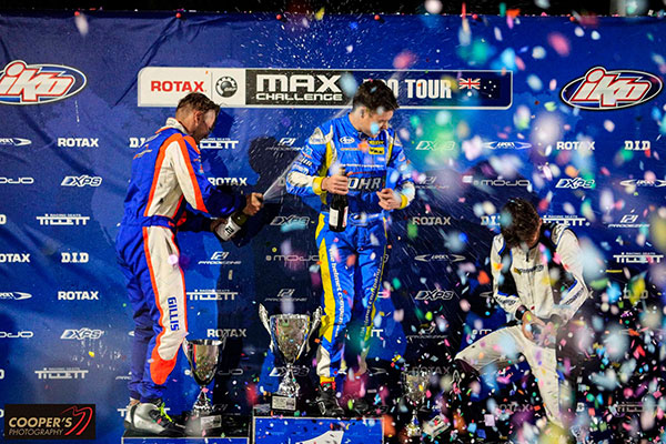 Rotax Light podium (pic - Coopers Photography)
