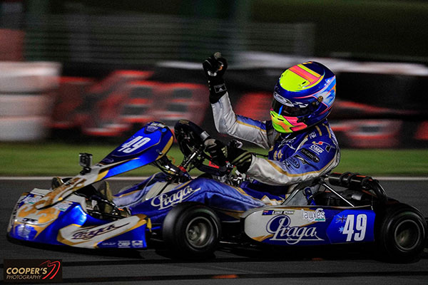 Luke Pink took out Junior MAX (pic - Coopers Photography)
