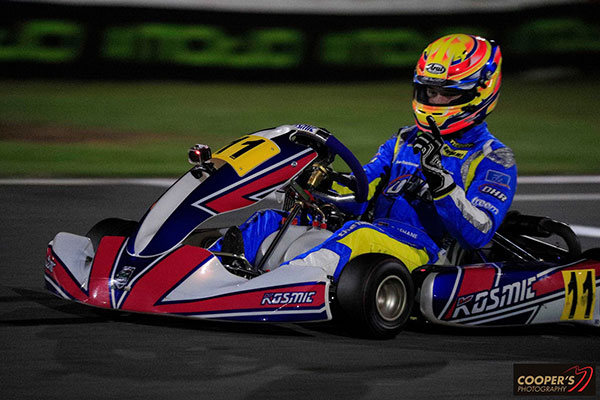 Rotax Light winner Pierce Lehane (pic - Coopers Photography)
